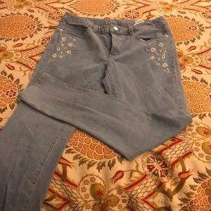 michael kors izzy skinny jeans. perfect condition